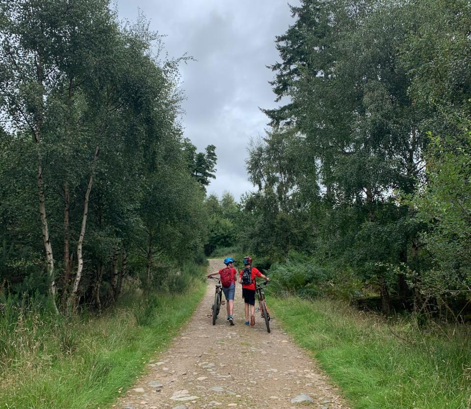 Comrie Bike Trails